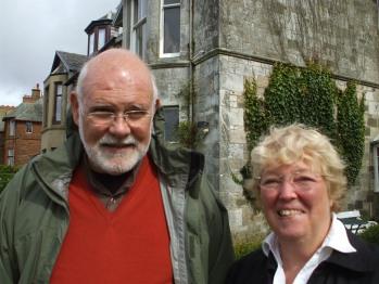 Mark and Janet visit Carlton Seamill B & B