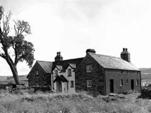 Old photograph of the guest house