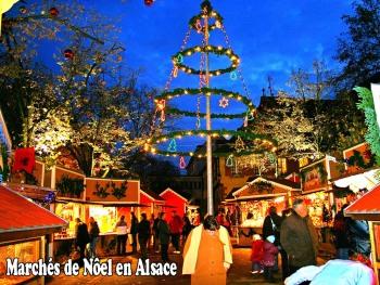 Marchés de Nöel en Alsace