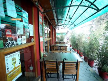 Restaurant view from outside