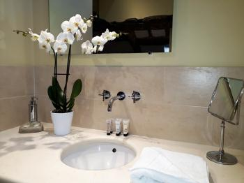 A detail of one of our bathrooms.