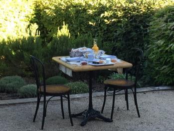 Petit dejeuner - Terrasse