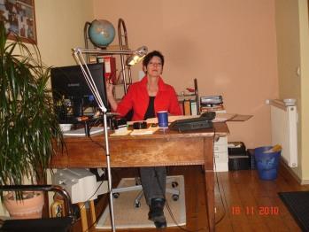 Ihre Gastgeberin, Karin Kaiser