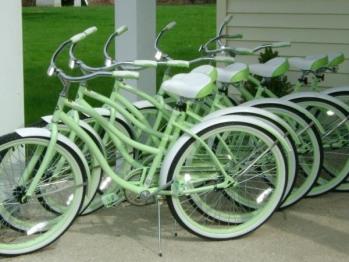 Free Beach Cruiser Bike use!
