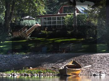 Ol' Homestead from the river