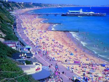 Bournemouth Beach - courtesy of Bournemouth Tourism