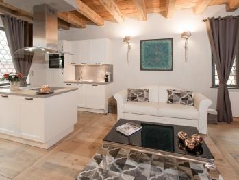 Cuisine et salon Le 1615 Duplex