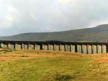 The Ribblesdale Viaduct.