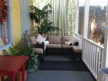 Front veranda seating