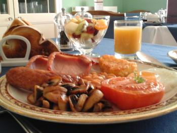 Enjoy our full English award winning breakfast.