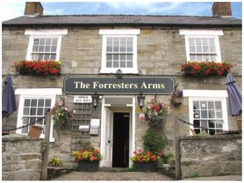 Forresters Arms Hotel - Front of Forresters