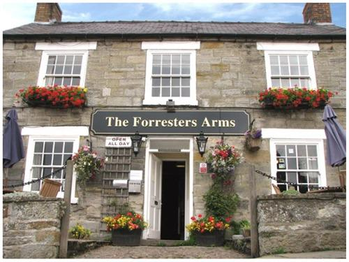 Front of Forresters