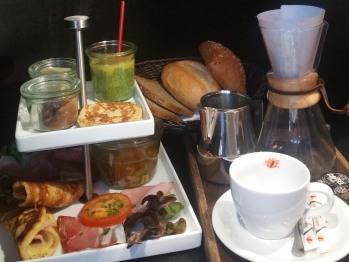 Eine unserer Frühstückskreationen mit regionalen Lebensmittel