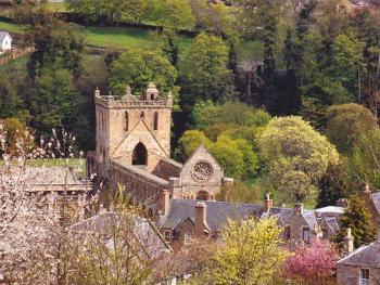 Jedburgh's 11th century abbey is just one of the Visitor Attractions in the Royal Burgh.