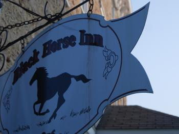 Black Horse Sign