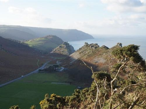 Valley of Rocks from Hollerday Hill