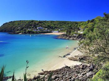 One of the many stunning South Hams beaches (Salcombe - South Sands)