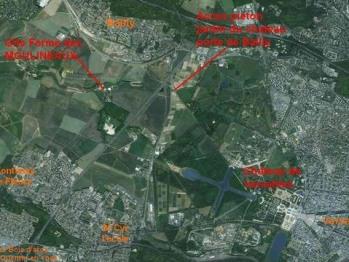 positionnement par rapport à Versailles