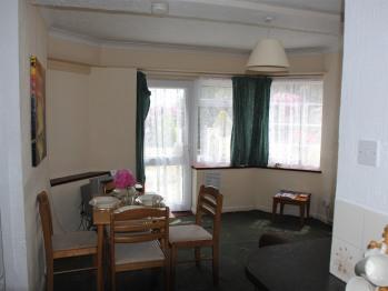Ashbury Tor apartment, lounge/dining area.