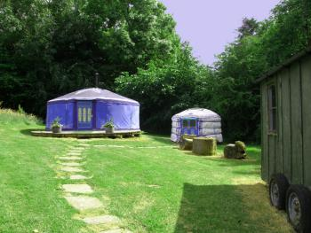 Yurt at Tregib