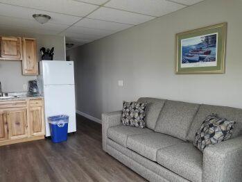 Premier Queen 12 Living Room and Kitchen