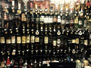 Over 260 whiskies and much more