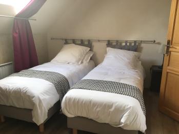 Chambre 3 lits jumeaux 3ème étage