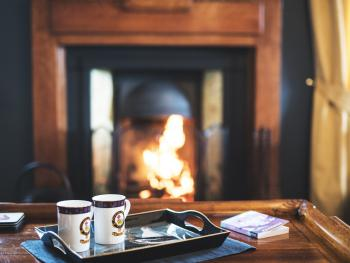 Tea and a roaring fire