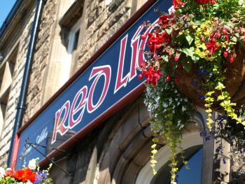 The Red Lion - Main sign
