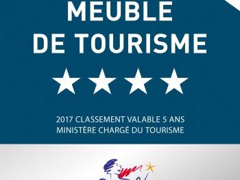 Meublé tourisme 4 ****