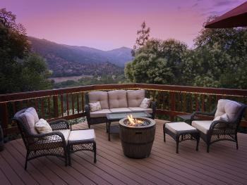 Deck and Firepit