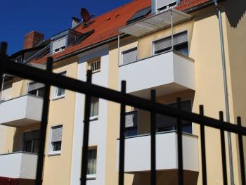 Rückseite des Hotels