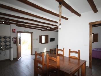 Vista zona común apartamento 2 habitaciones
