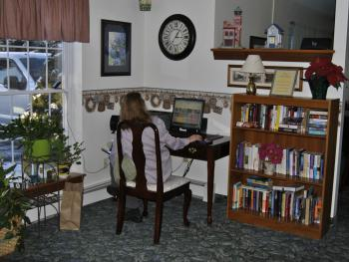 Lobby Computer Station