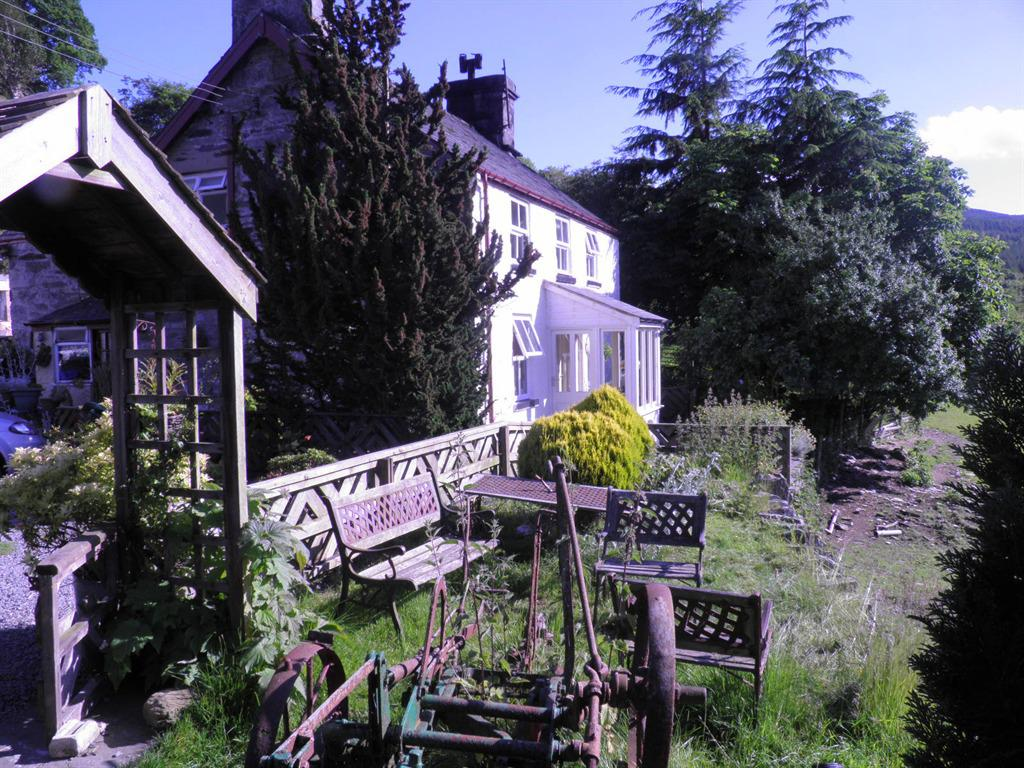 garden and front of farm
