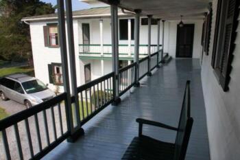 Andrew Jackson suite veranda