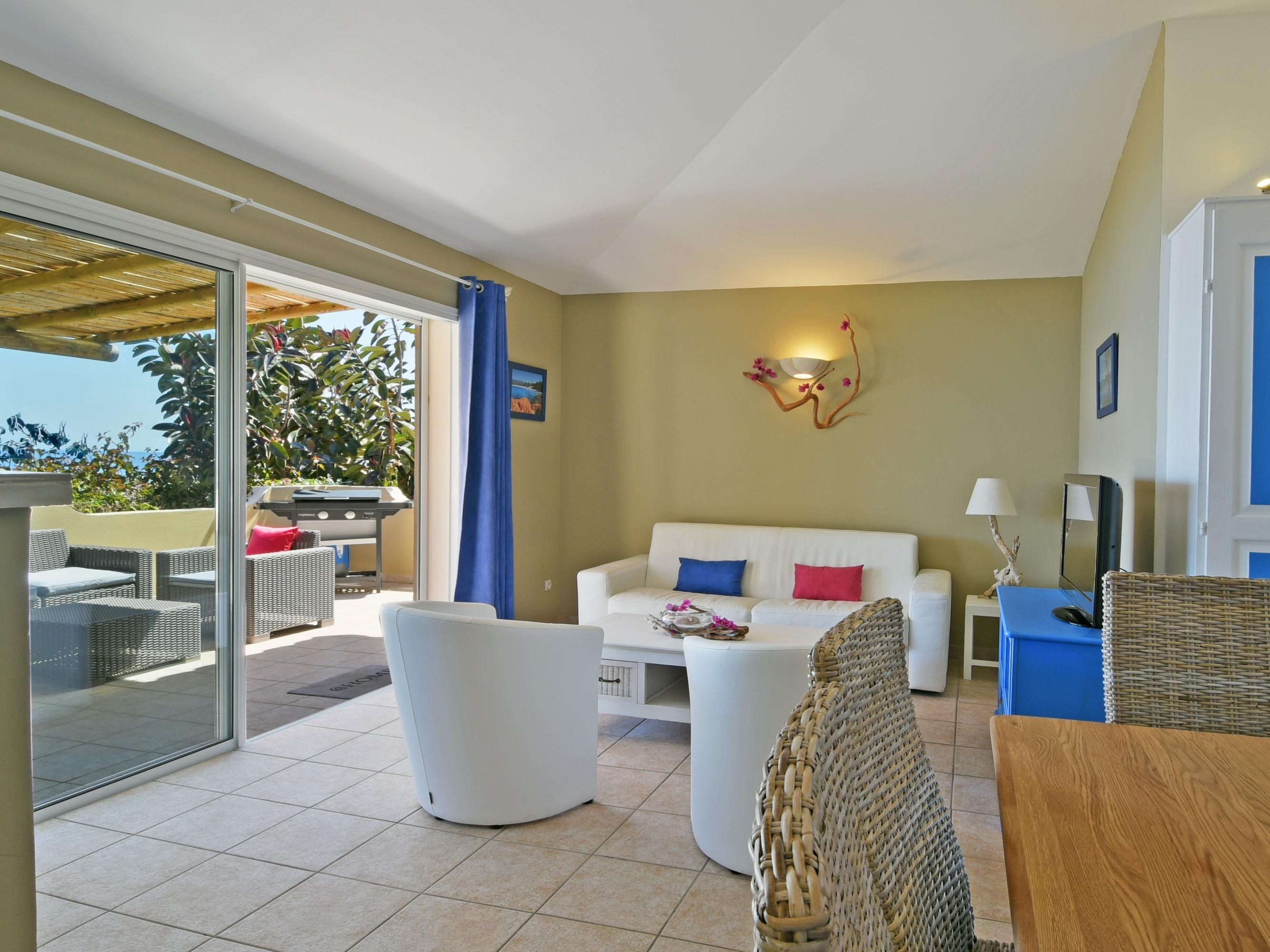 Appartement-Salle de bain privée séparée-Vue mer-4