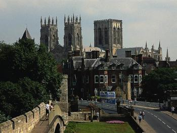 York Minster, within an hours drive of Plumpton Court