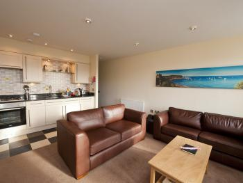 Harbourside Apartments - Open Plan Living Area