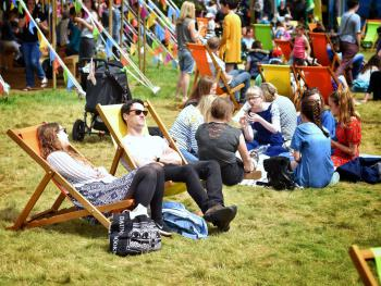 Annual Hay Festival - Late May
