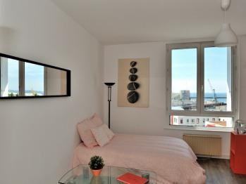 Studio-Appartement-Salle de bain Privée-Vue mer