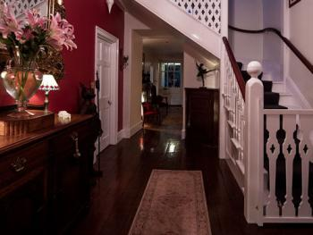 The Entrance Hall - Be greeted by the gentle flicker of candlelight - A warm welcome awaits.