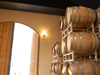 On site Dunning Vineyards winery and tasting room.