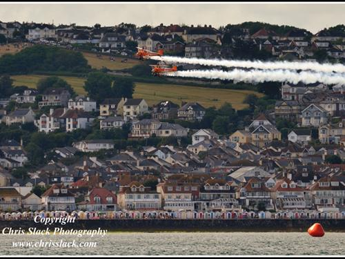 Another aerial shot of the Channel View Hotel, taken during the Torbay Airshow 2016.  Thanks and credit to Chris Slack Photography