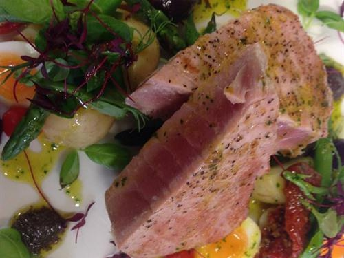 all our food is homemade and sourced locally where possible,