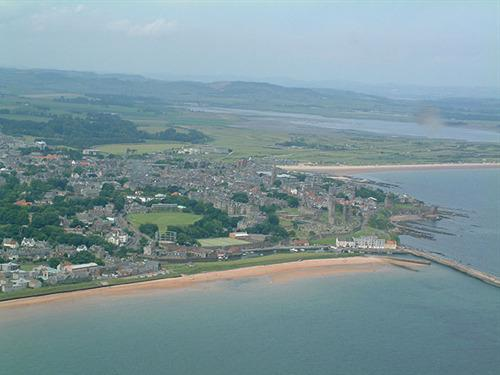 St Andrews Arial from Kinkell Direction