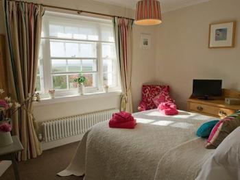 Double Room with Sea Views in the Coastal Cottage