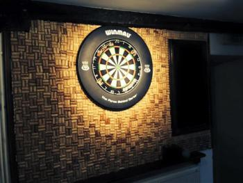 Our darts bar, a fantastic space to unwind.