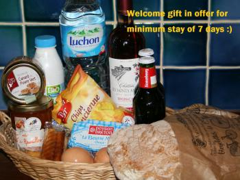 Welcome gift_7 days stay