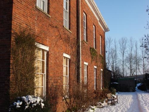 Glebe House in snow!